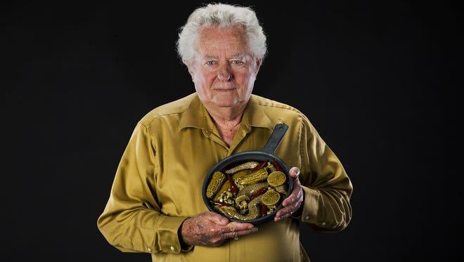 Halldor Hjalmarson from Phoenix created his piece, Tombstone, Miner's Grub.