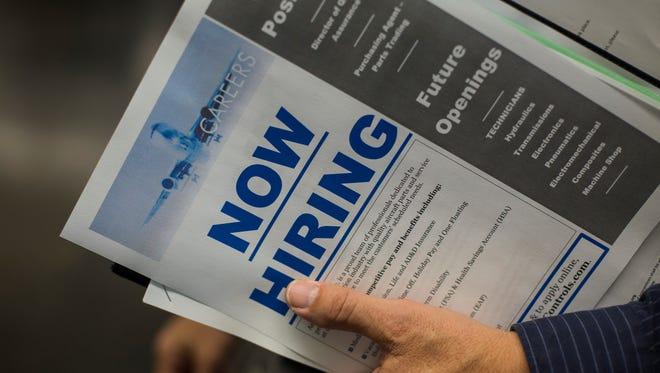 Arizona saw 62,649 net new jobs in 2014.