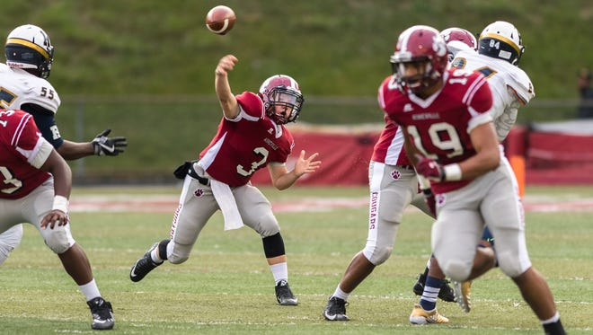 Asheville High quarterback Three Hillier leads WNC  in passing yards after Week 1.