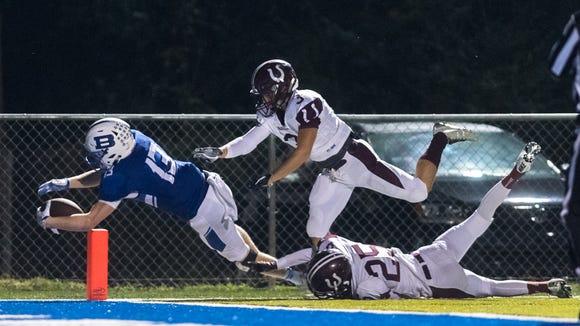 Brevard high school's Luke Ellenberger dives into the