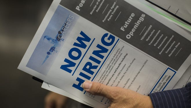 Buncombe County's unadjusted jobless rate for November 2017 was 3.4 percent, falling about a percentage point better than the statewide average.