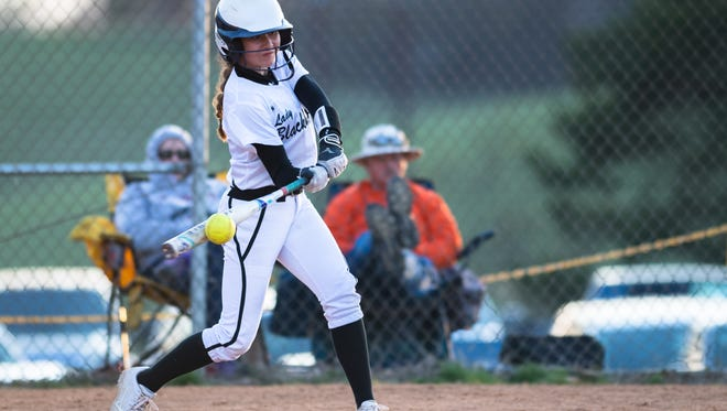 North Buncombe softball hosted Reynolds for their game Friday, March 16, 2018. North Buncombe defeated Reynolds 2-0 in seven innings.