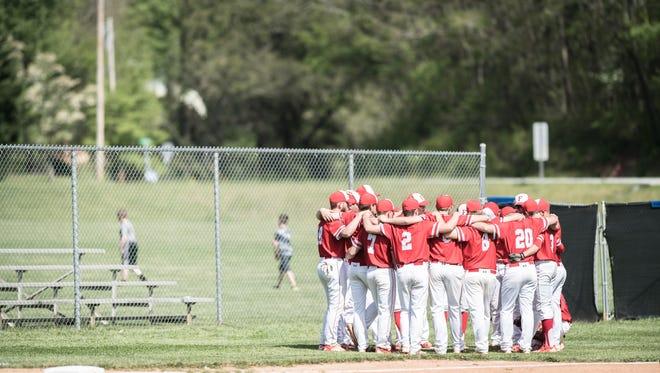 Smoky Mountain hosted Franklin for their baseball game Thursday, May 3, 2018. Smoky Mountain won 7-2.