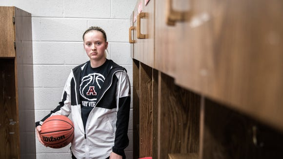 Avery County's Heaven Nelson has overcome huge obstacles to remain at the high school while continuing to be a top player on the basketball team.