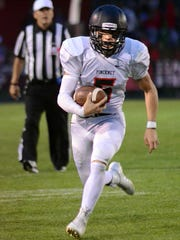 Quarterback Jack Wurzer of Pinckney made second-team