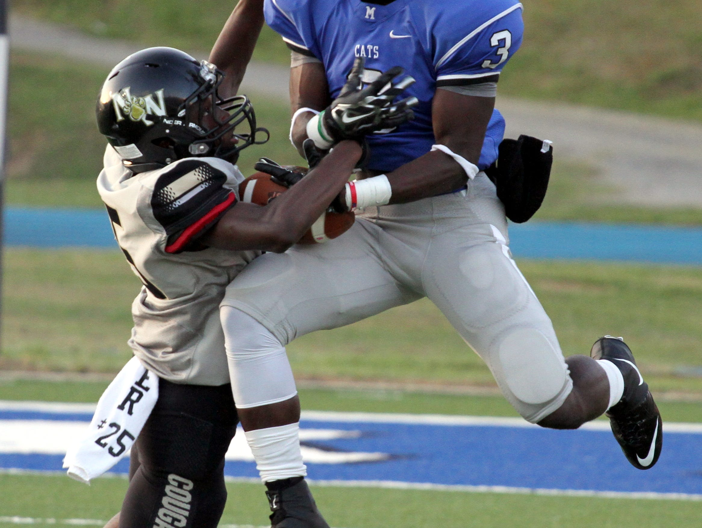 Meridian wide receiver Daniel Crowell is one of five players who just missed making the Dandy Dozen.