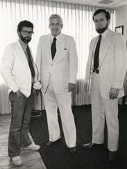 """""""Star Wars"""" creator George Lucas, left, Kenner Products"""