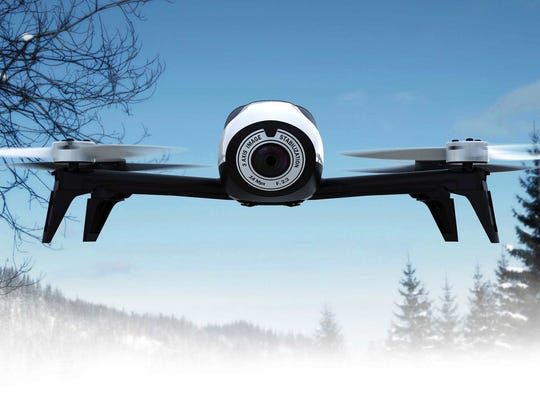 The Parrot Bebop Drone 2.