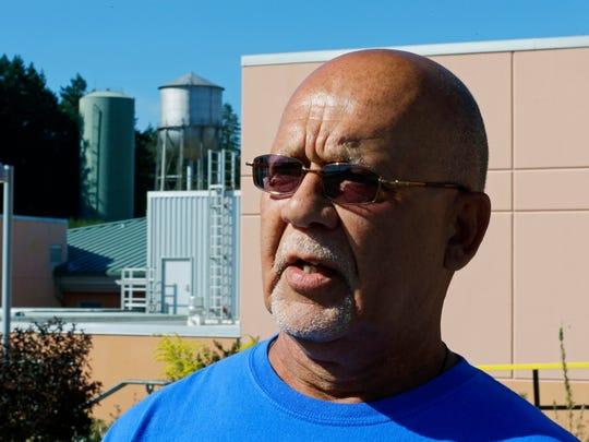Calvin Malone, a resident at the Special Commitment Center on McNeil Island, is leading a legal challenge over water quality at the facility.