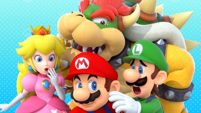 """Mario and the gang return once again in """"Mario Party 10"""" for the Wii U."""