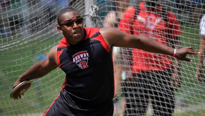 Rahway's Jordan West won the Group III boys discus and shot put.