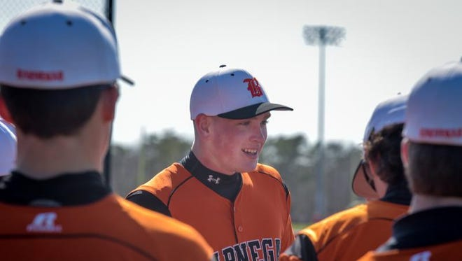 Barnegat left-hander Jason Groome was selected in the first round of the MLB First-Year Player Draft on Thursday night.
