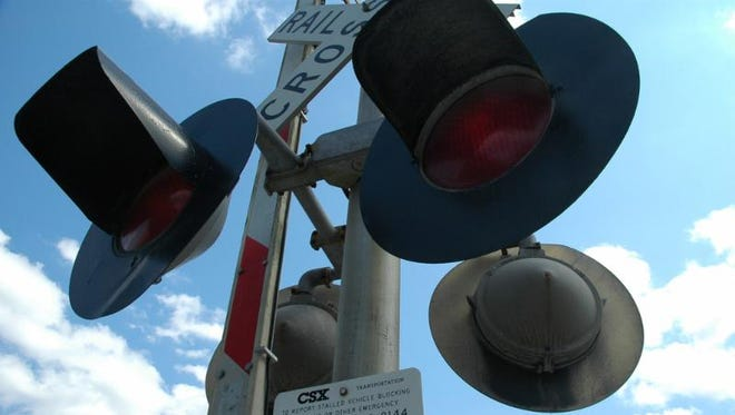 CSX Corporation is making repairs to a railroad crossing in Santa Rosa County.