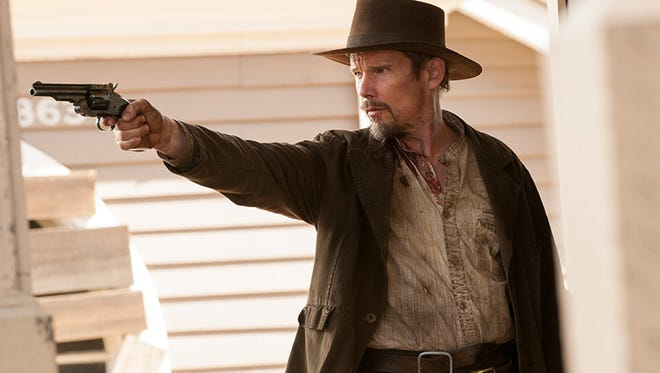 """Ethan Hawke stars in """"In a Valley of Violence."""""""