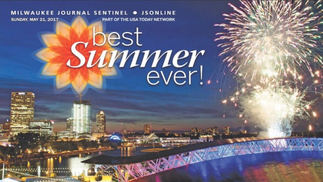2017 Best Summer Ever Front Cover