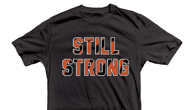 Still Strong T-Shirt by Cincy Shirts.