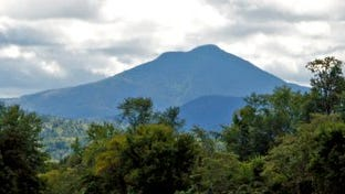 A view of Camels Hump from Williston.