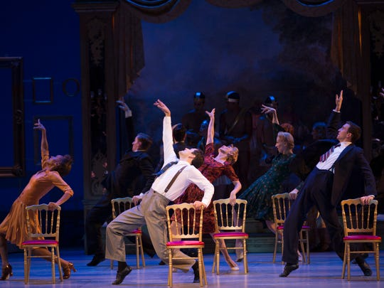 """An American in Paris"" is also nominated for best choreography."