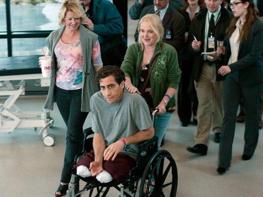 Jake Gyllenhaal plays Jeff Bauman in 'Stronger.'