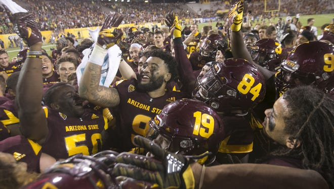 ASU's schedule is ranked No. 6 nationally (Sagarin) and its losses are to nationally ranked teams (AP poll) with a combined 14-3 record.