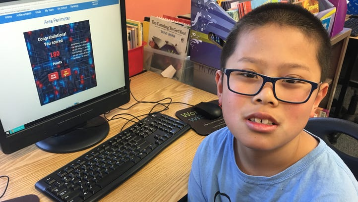 Asbury Park student excels in math