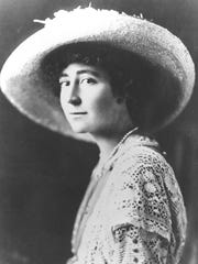 Jeannette Rankin was the first woman elected to Congress and a human rights activist. She refused to vote for the United States to enter World War I or World War II despite popular opinion.