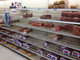 Bread begins to vanish from the shelves at BI-LO on