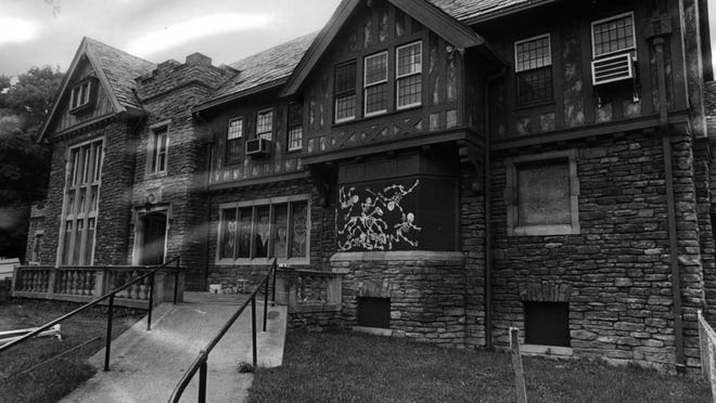 This is what WSAI's 1974 haunted house looked like in the daylight. At night, it was something else. WSAI and the Sycamore-Deer Park Jaycees started putting on a haunted house to raise money for charity in 1970.