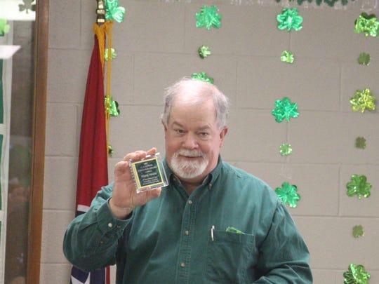 Marty Moore receives Emerald Award at 2017 Irish Celebration