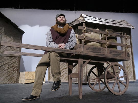 Tevye is played by Mitchell J. Hardy in Clarenceville