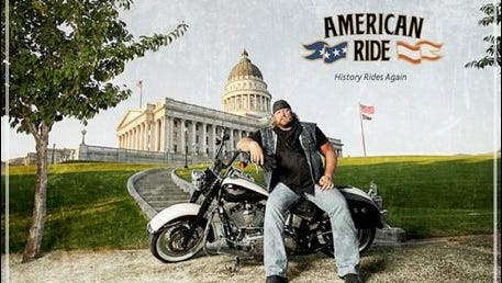 """American Ride"" features Stan Ellsworth travelling across the country to tell stories about America's culture and people."