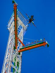 The Super Sling shoots people nearly 200 feet in the