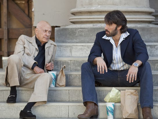 "Alan Arkin (left) and Ben Affleck star in ""Argo."""