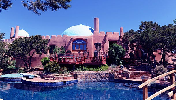 Ruidoso was the least expensive of five winter getaway destinations featured in a Tripadvisor article. Santa Fe, pictured here, is also on the list.