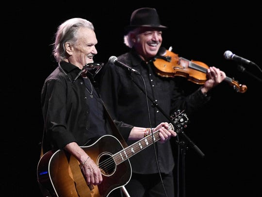 Kris Kristofferson performs on stage during a concert
