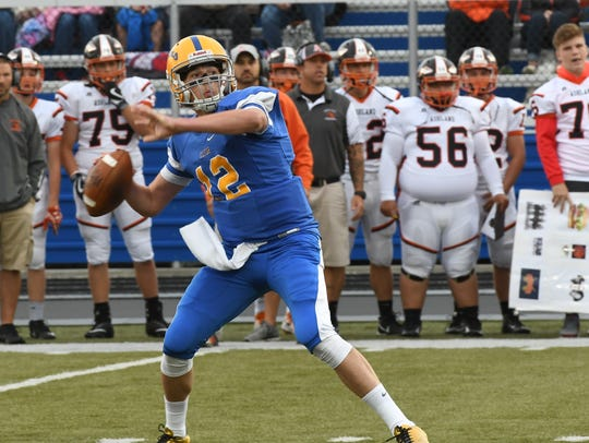 Clyde's Trevor Burtch tossed two touchdown passes Friday