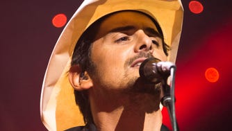 Country singer Brad Paisley performs in 2014 at Riverbend.