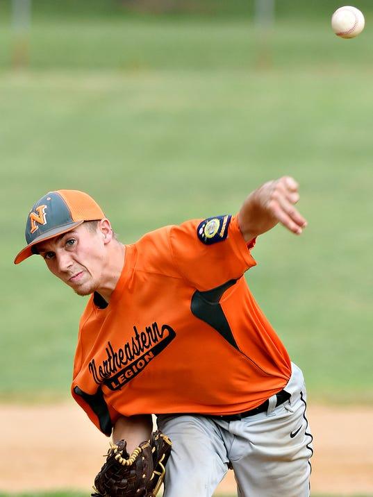 Spring Grove vs Northeastern York-Adams American Legion Baseball
