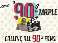 Win tickets to '90s on Maple with Adam Graham!
