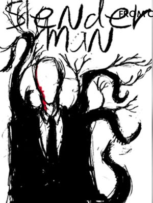 """A depiction shows the fictional horror character Slender Man. An email was sent to staff and freshmen students at Oconomowoc High School about a student who wanted to start a cult called the """"Trinity Sisters"""" that wanted to build upon the 'Slender Man' stabbing in 2014."""