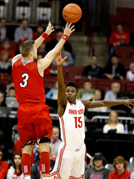 NCAA Basketball: Miami (OH) at Ohio State