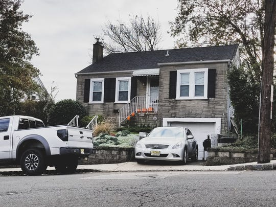Richard Giacobone's home on Summit Avenue in Fort Lee. Authorities say they found drugs, steroid and assault weapons inside during a welfare check on Thursday.