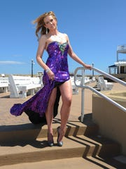 Style Files candidate Gretchen Spraul at Bethany Beach.