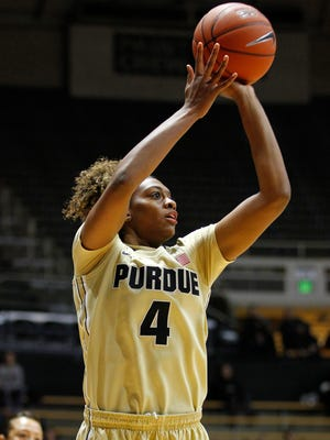 Fifth-year senior forward Torrie Thornton's legacy at Purdue includes two Big Ten championships.