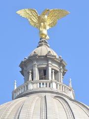 State Capitol eagle.