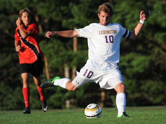 SOCCER: Lexington v Mansfield Christian