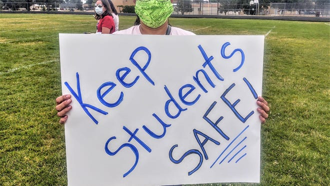 Members of the Pueblo Education Association in Colorado have been critical of Pueblo District 60's plan for face-to-face classroom instruction.