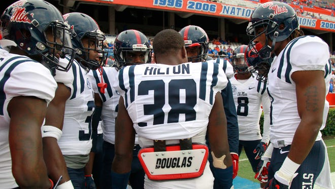 Ole Miss defensive back Mike Hilton helped make the Rebels' group of safeties one of the strongest position groups on the team.