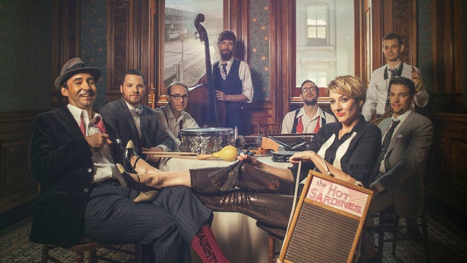 The Hot Sardines will perform at the Cabaret at Columbia Club on Feb. 7.