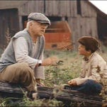 Mickey Rooney and Kelly Reno star in 1979's The Black Stallion, now available on Blu-ray.
